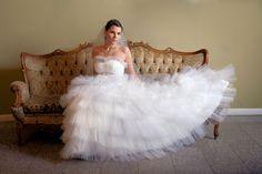 Suknia ślubna tiulowa w bardzo atrakcyjnej cenie dostępna http://www.juliacollection.eu/