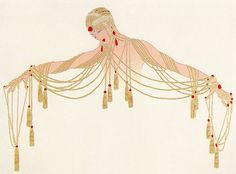 Fashion illustration by the great Erte!