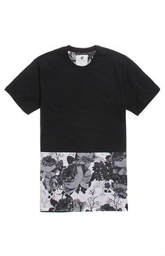 On The Byas Jules Pieced Crew T-Shirt at PacSun.com