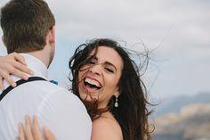 Santorini, Greece Wedding Photography at Santos Wines Winery by Megan Saul Photography