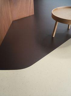 Forbo Flooring Systems - Marmoleum Cocoa with cocoa shells - floor - sustainability - recycle - design - interior - inspiration - color - livingroom - linoleum - home decor - furniture - office #marmoleumfloorsinspiration