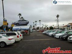 Giant Inflatable 2014 Hyundai Sonata. ContouredCreations.com