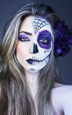 Tutoriel maquillage halloween… Plus