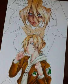 Art Manga, Anime Art, Manga Anime, Annie Leonhart, Manga Drawing Tutorials, Hxh Characters, Japon Illustration, Anime Character Drawing, Seven Deadly Sins Anime