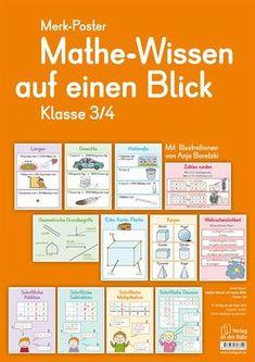 Mathe-Wissen auf einen Blick - Klasse 3/4