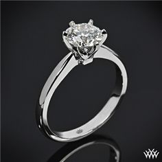 'Contemporary' Solitaire Engagement Ring