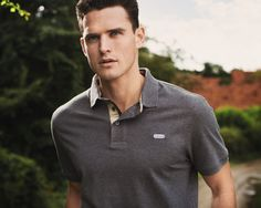 Barbour Munro polo shirt, a summer essential.