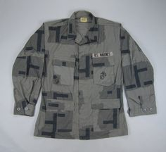 USMC MOUT T-Pattern Urban Camo BDU Shirt
