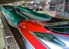 新幹線 はやぶさ・スーパーこまち, E5・E6 Shinkansen, Japan (Newest Bullet Train)