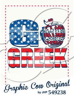 Go Greek panhellenic crest American flag Panhellenic Council, North Face Logo, The North Face, Graphic Cow, Go Greek, American Flag, Logos, American Fl, Logo