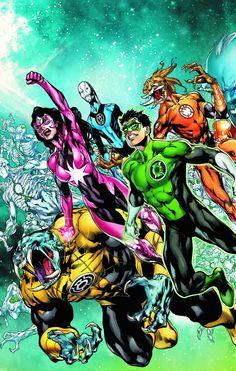 New Guardians -Green Lantern-New 52