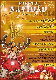 Cartel Fiesta Navidad 2014