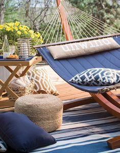 Simple Details: hammock