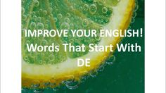 Improve Your English, Prefixes, Online Courses, Improve Yourself, Words, Videos, Free, Horse