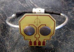STUPIDFINGERS - Projects (PCB Skull Bracelet)