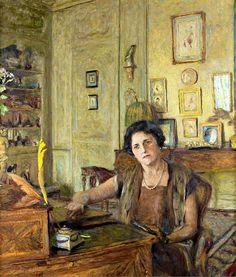 Édouard Vuillard / Portrait De La Comtesse Raoul De Ricci