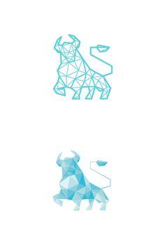 Blue Bull logo by Breno Bitencourt