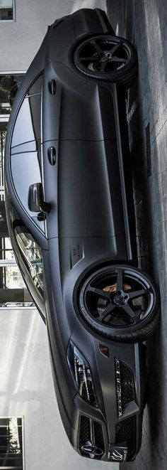 Matte Black Mercedes-Benz CLS63 AMG by Levon