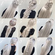 Blonde Braided Hairstyles There are two big hair trends that every fashionable girl should know. One of these trend is the fancy hair clips! Second one is this headband trend! Braided Hairstyles For Black Women, Braided Hairstyles Tutorials, Fancy Hairstyles, Braid Hairstyles, Protective Hairstyles, Blonde Braids, Braids For Black Hair, Big Hair, Curly Hair Styles