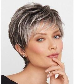Image result for hairstyles for women over 50 with gray hair