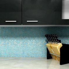 Mosaikfliesen In Der Kücheneinrichtung #Design #dekor #dekoration #design  #Heimtextilien #Hausdesign
