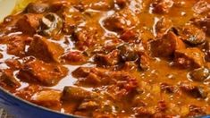 Low FODMAP Recipe and Gluten Free Recipe - Paprika pork. Use coconut milk/cream instead Fodmap Recipes, Meat Recipes, Cooking Recipes, Pork Casserole Recipes, Recipes With Pork Stock, Pork Pieces Recipes, Pork Cubes Recipes, Diced Pork Recipes, Doritos Recipes