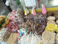 Roadside Shops selling treats! San Juan