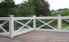 Bildergebnis für terrasse geländer holz