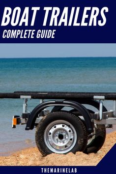 We have constructed the anatomy of a boat trailer so that you will be able to make an educated decision before purchasing. Trailer Tires, Boat Trailer, Towing Vehicle, Electric Winch, Best Boats, Pontoon Boat, Boater, New Trailers, Water Crafts