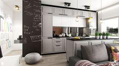 Kuchnia styl Industrialny - zdjęcie od PEKA STUDIO - Kuchnia - Styl Industrialny - PEKA STUDIO