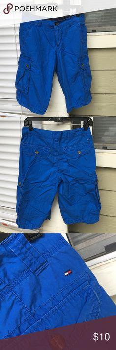 Tommy Hilfiger Blue Boy Shorts Beautiful blue color Tommy Hilfiger Bottoms Skorts