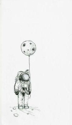 Astro black and cosmo dark astronaut drawing, astronaut illustration, astronaut tattoo, space illustration Moon Drawing, Painting & Drawing, Sketch Drawing, Inspiration Art, Art Inspo, Sketchbook Inspiration, Art Sketches, Art Drawings, Tumblr Sketches