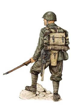 "Regio Esercito - Soldato, 77° Reggimento fanteria, Divisione ""Lupi di Toscana"", Grecia1941-42 Ww2 History, Military History, Ww2 Uniforms, Military Uniforms, Italian Army, Military Gear, Armed Forces, World War Two, Wwii"