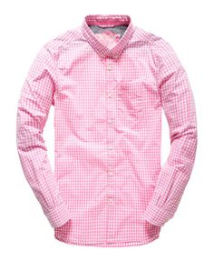 Superdry London Button Down Skjorta