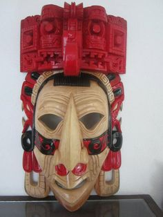 Made to Order Red Giant Large Chaac Mool by TheFantasticAztec