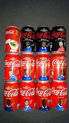 11 canettes Coca-Cola Euro 2016 - Neuves Pleines (+ Fifa World Cup Brazil 2014)  | eBay