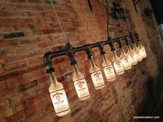 Steam Bottle Industrial DIY Pipe Lamp Table Lamps