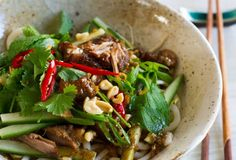 Five-spice and Lemongrass Beef or Pork with Noodles