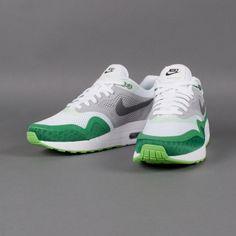 777d761d5d67 Sneaker Nike - Air Max 1 BR (white   dark grey   silver   pn grn)