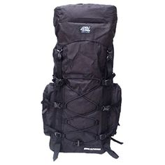 30 4200 cu in Tactical Hunting Camping Hiking Backpack HB002 BLACK ** Visit the image link more details.