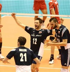 Post-Match - Poland-Japan - Men's World Olympic Qualification Tournament - Japan