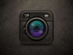 iOS Camera Icon by Alvin Thong