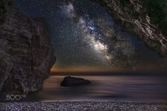 The cave 2 - Milky Way at Rhodes