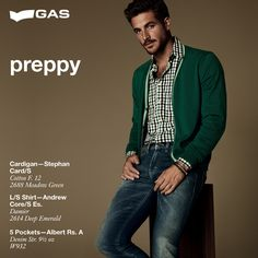 Born in American colleges, it's back in a casual-chic version. It's PREPPY STYLE: informal and elegant!