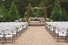 Beautiful and simple venue in Rogersville MO. Samuel Cedars.