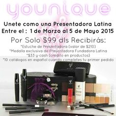 Viva La Mexico!!  Younique Launching May 5th in Mexico.  Be a Part of My Fabulashed Team.  www.Youniqueproducts.com/VictoriasFabulousLashes