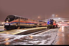 RailPictures.Net Photo: AMTK 66 Amtrak GE P42DC at Salt Lake City, Utah by Steve Ellis