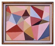 E Gullander Abstract Diamond Painting