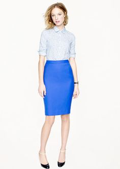 Jcrew pencil skirt- working girl staple