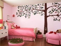 felt tree wall decal | Tree Wall Decals Add Style & Sophistication to Your Home
